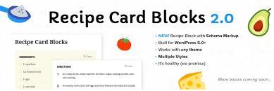 Recipe Writer App The 6 Best Wordpress Recipe Plugins 2019 Athemes