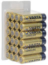 """<b>Батарейки Varta</b> """"<b>Longlife</b>"""", тип AA, 24 шт — купить в интернет ..."""