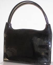 vintage lennox black patent leather handbag kitchengarden purses ruby lane