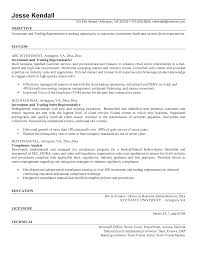 Endearing Proprietary Trader Resume Also Proprietary Trading Resume