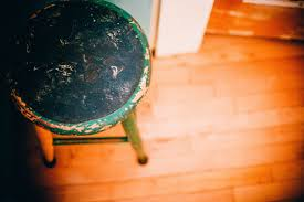 light chair floor seat stool footstool green reflection color blue furniture circle globe sit wooden floor