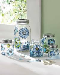 Decorating Ideas For Glass Jars GussiedUp Glass 100 Crafts Made Using Martha Stewart Crafts Glass 19