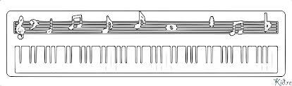 Piano Kleurplaten Kidre