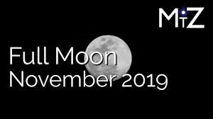 Full Moon November 2019 True Sidereal Astrology