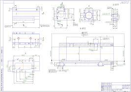 Готовые курсовые проекты по технологии машиностроения Скачать  Приспособление для установки и закрепления детали корпус на столе обрабатывающего центра ИР500ПМФ4