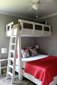 Loft Beds: Twin Extra Long Loft Bed Large Size Of Bunk Over Queen Futon Full