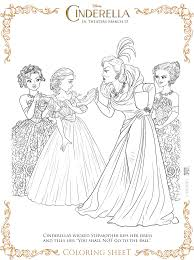 Small Picture Cinderella Coloring Pages and Activity Sheets Almost Supermom