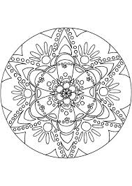 Kleurplaat Mandala Kleurplaten 5084 Kleurplaten