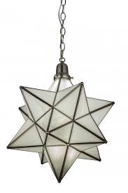 18 w moravian star pendant
