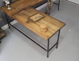 wood office tables confortable remodel. Wood Office. Reclaimed L Shaped Desk Designs Office Tables Confortable Remodel P