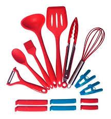 �preparada para cocinar unos platos tan exquisitos que tus invitados acaben por chuparse los dedos? Ekco Juego 5 Utencilios A Cocinas Utensilios Cocina Mercadolibre Com Mx