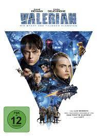 Valerian - Die Stadt der tausend Planeten DVD