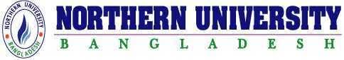 northern university logo. northern university bangladesh logo n