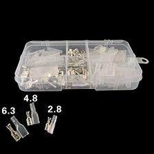 Terminals 2 8-<b>120pcs 2.8 4.8 6.3</b>mm Insulated Electrical Wire Crimp ...