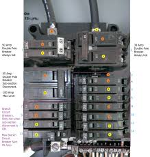 electrical do the breaker amp readings sum up to dictate my how to wire a breaker box to another breaker box at House Breaker Box Wiring Diagram
