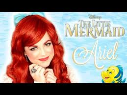 you ariel makeup tutorial disney s the little mermaid faces by cait b
