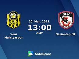 Yeni Malatyaspor Gaziantep FK livescore, videostrømming og innbyrdes  resultater - Sofascore