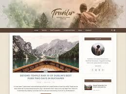 Best Blog Design Examples 20 Best Wordpress Travel Blog Themes 2020 Athemes