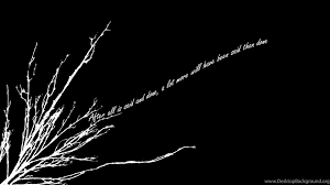 Simple Black And White Desktop Background