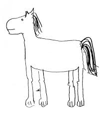 Small Picture Horse Sketch For Kids This Is A Perfect Example Of The Horses I