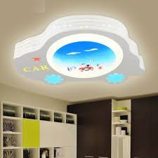 childrens bedroom lighting. 2015 Novelty Led Ceiling Lights For Children Kids Bedroom Cartoon Car Metal IQ Lighting Childrens D