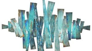 modern metal wall art abstract decor contemporary sculpture hanging