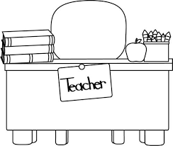 desk clipart black and white. black desk cliparts #2781692 clipart and white t