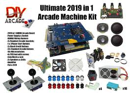 4 Player Arcade Cabinet Kit 2 Player Bartop Arcade Machine Powered By Pi Pictures Of