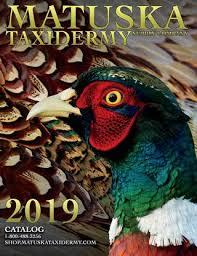 2019 Catalog Matuska Taxidermy Supply Co By Matuska