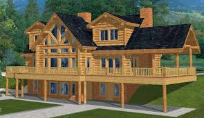 log cabin floor plans. Architectural Features Of Log Cabin House Plans: Floor Plans R