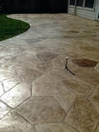 stained concrete patio cost stamped concrete patterns spaces with concrete hand stained concrete patio patios how