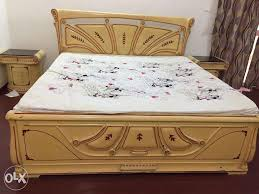 double bed with box design. Brilliant Double King Size Wooden Designer Dbl Bed Storage Box And Side On Double Bed With Box Design O