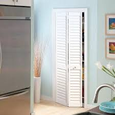 30 bi fold door in x in plantation full louver painted pine interior closet bi fold door white