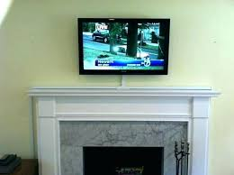 how to mount tv over fireplace and hide wires hide over fireplace wall mount mounting gas