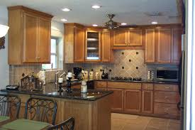 Kitchen Remodel With Gray Kitchen Cabinets  Cool Small Kitchen - Kitchens remodel