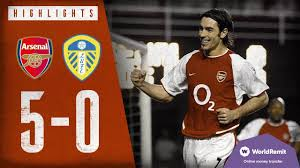 THIERRY HENRY SCORES FOUR! | Arsenal 5-0 Leeds United | Classic highlights