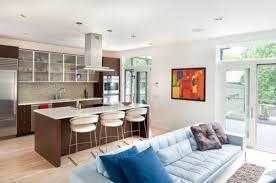 Fancy Kitchen And Living Room Design Kitchen Living Room Design Interior Design Kitchen Living Room