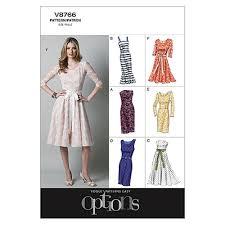 Vogue Pattern Inspiration Vogue Misses'Misses' Petite Dress Pattern V48 Size AA48 Discount