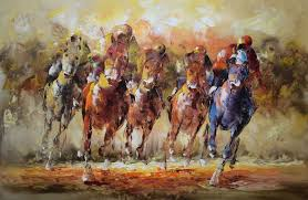 800x521 popular horse racing paintings horse racing paintings abstract horse painting on canvas