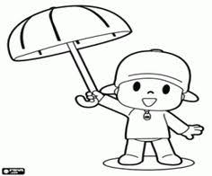 Small Picture pocoyo dibujos Spanish Coloring Pages Pinterest