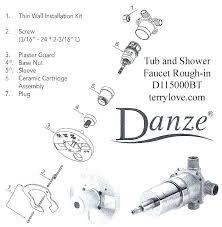 danze shower cartridge diverter ebbandflow