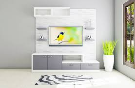 the very contemporary wall mounted vanadzor tv unit with laminate finish provides the ideal laminate background paneling the tv console is sectioned