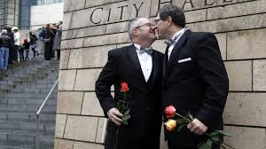 First gay marriage attempt
