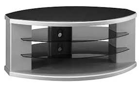 bush vs9725003 tv stand glass shelf storage 2 fixed tempered glass shelves tested for tip ility with your safety in mind fits most 36 conventional