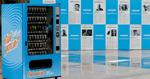 A Vending Machine Is Designed To Dispense Magnificent Opioids From A Vending Machine Actually It's Selling A New Way To