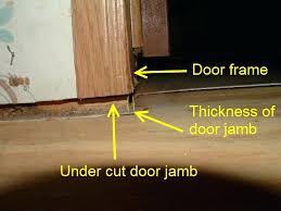 mobile home vinyl flooring when installing quarter round in mobile homes after the laminate flooring is