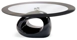 black coffee table with glass the designer louis lara has shaped the piece into
