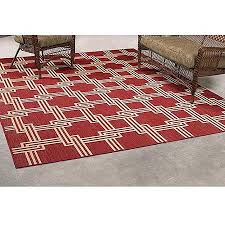 get ations mainstays red squares outdoor rug 8 x 10