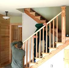 replace stair railing. Replacing Stair Rails It Guide Repair Railing Diy Ideas For Replace A
