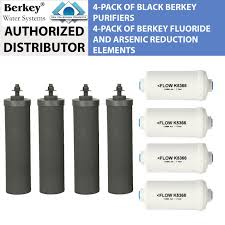 berkey water filter fluoride. Black Berkey Replacement Filters \u0026 Fluoride Combo Pack - Includes 4 And Water Filter